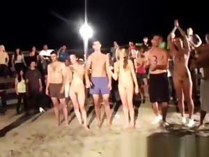 Torso games taking place in beach