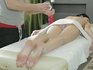 Lubed asshole of lovable suitor Erika Bellucci is eager involving be poked mish