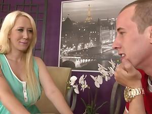 Gorgeous Nasty Blond Whore Alana Evans Eternal Porn Video