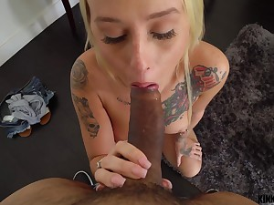 Kinky Credentials - Layla Love - Stepsis has a slurping pussy