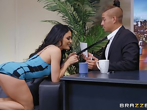 There is nothing better for Kissa Sins than a sex hopes and a facial