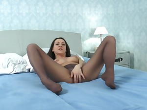 Multi-storey Emma Diamond Nylon Pantyhose Charm Enjoyment from